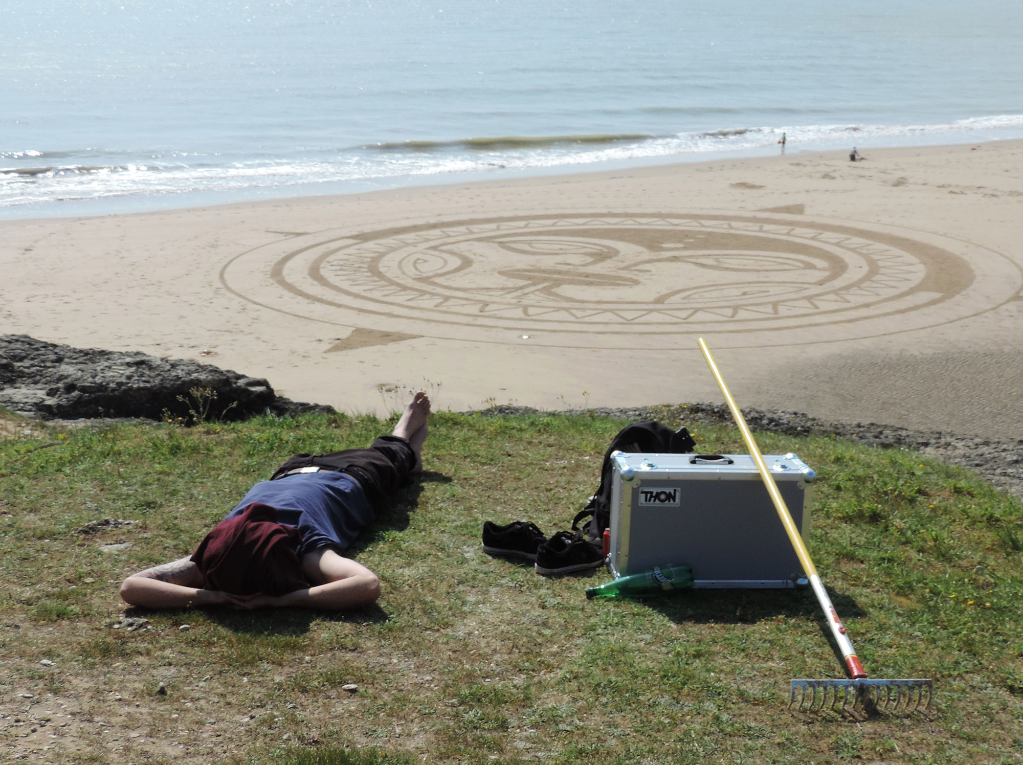 Beach art Avril 2014