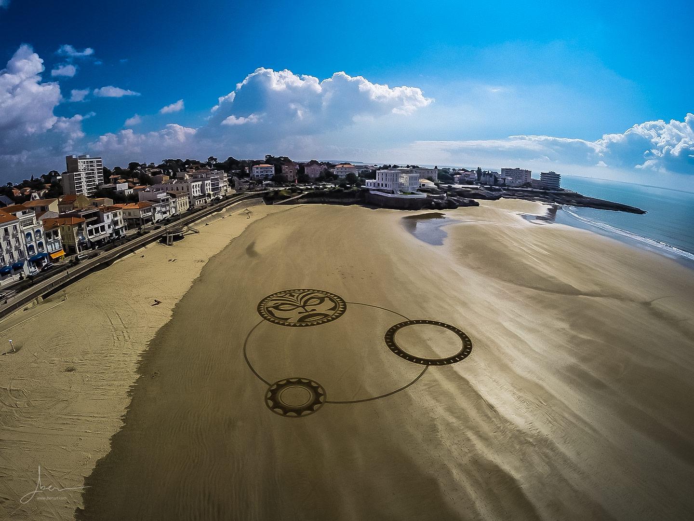 Beach art polynésien