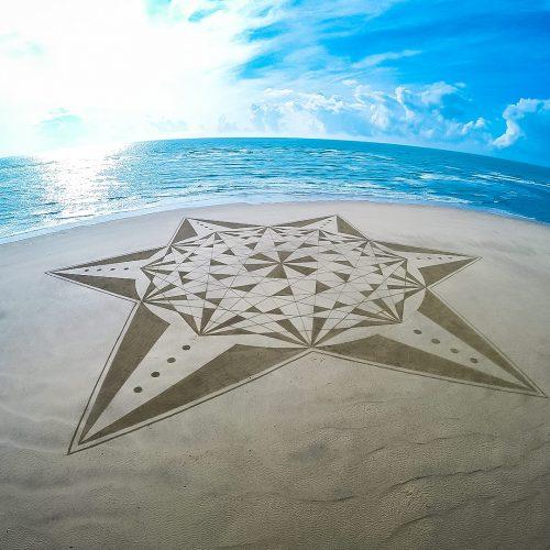 Beach art étoile éveil