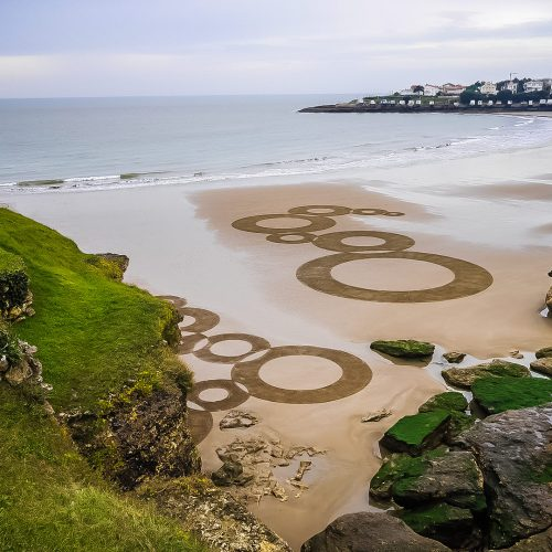 Beach art ondes