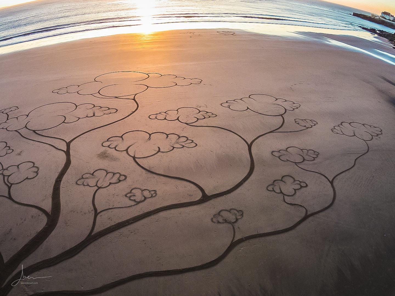 Beach art arbre à rêve
