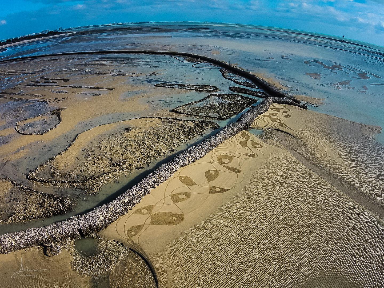 Beach art picasso