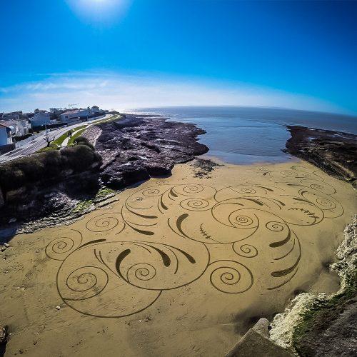 Beach art filaments
