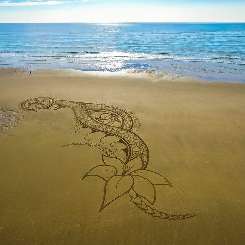 beach art ornements polynésiens
