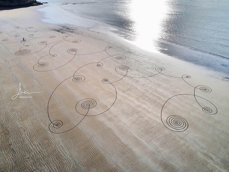 Beach art ziguillon