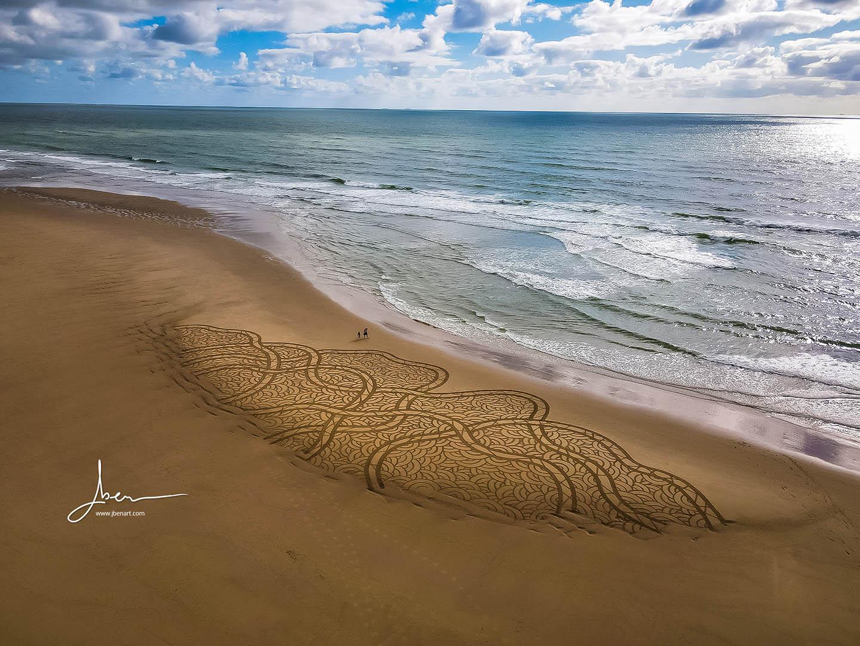 Beach art Noodles