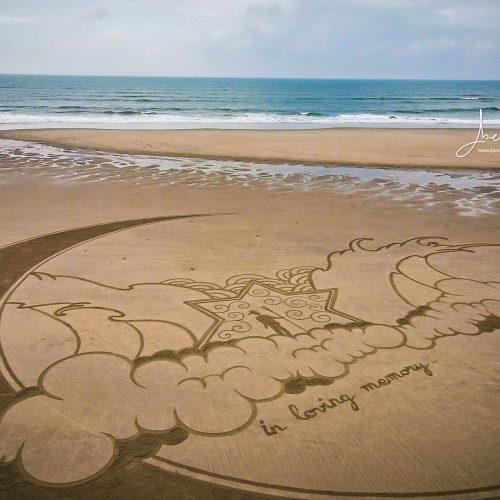Beach art Marc Treanor